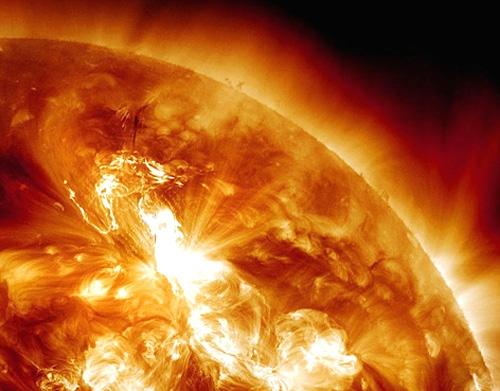 توفان خورشیدی