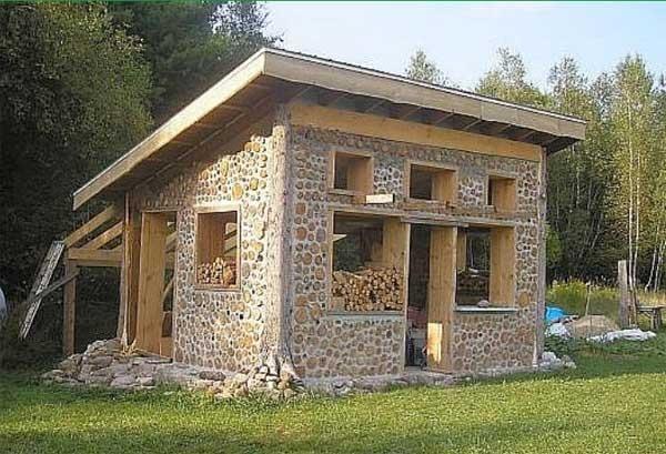 آشنایی تصویری با خانههای ویلایی نیمهچوبی