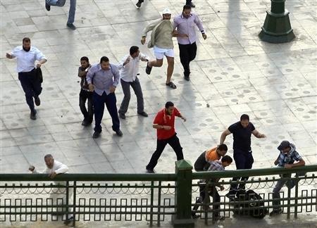 110 مجروح نتیجه درگیری در التحریر