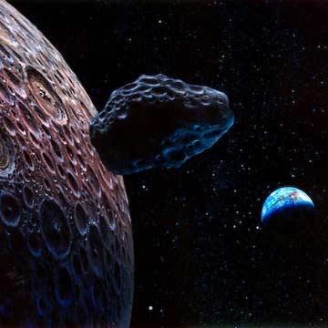 سیارکی دیگر از کنار زمین گذشت