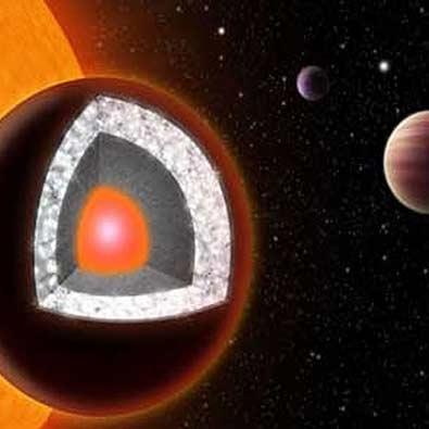 سیاره ای از جنس الماس