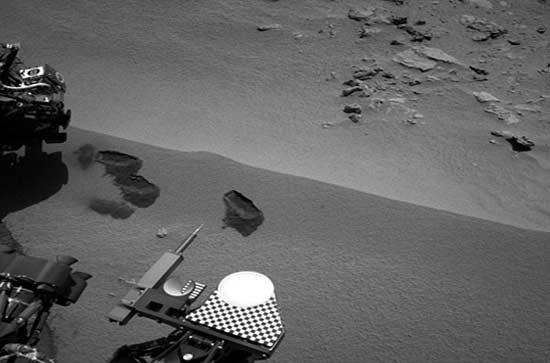 نخستین آزمایش روی خاک مریخ