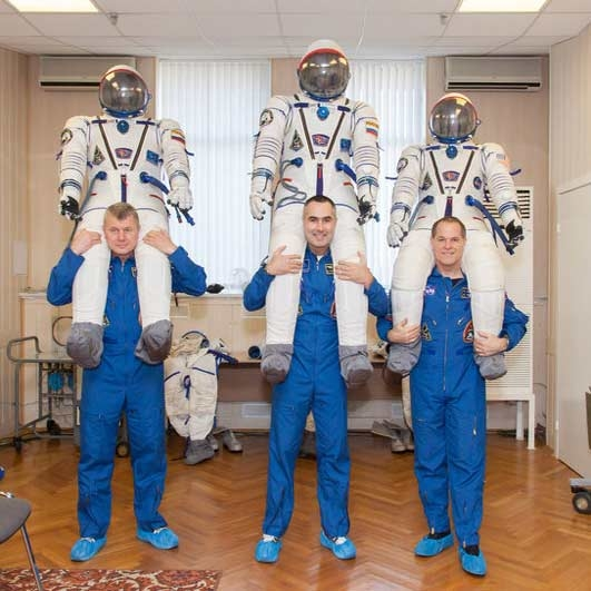 خدمه جدید ایستگاه فضایی، آماده سفر به فضا