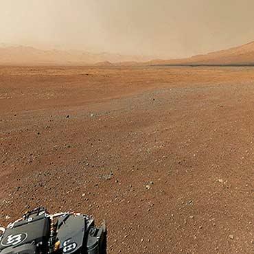 گاز متان در سیاره مریخ