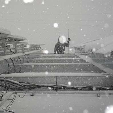 برف بیشتر، برق بیشتر