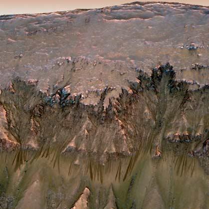 لکههای سیاه مریخ
