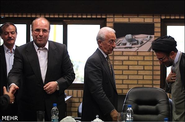تصاویر بازدید پروفسور سمیعی و شهردار تهران از پروژه مرکز بینالمللی علوم مغز و اعصاب ایران