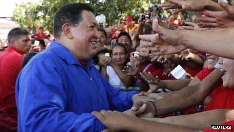 درخواست چاوز از طرفدارانش
