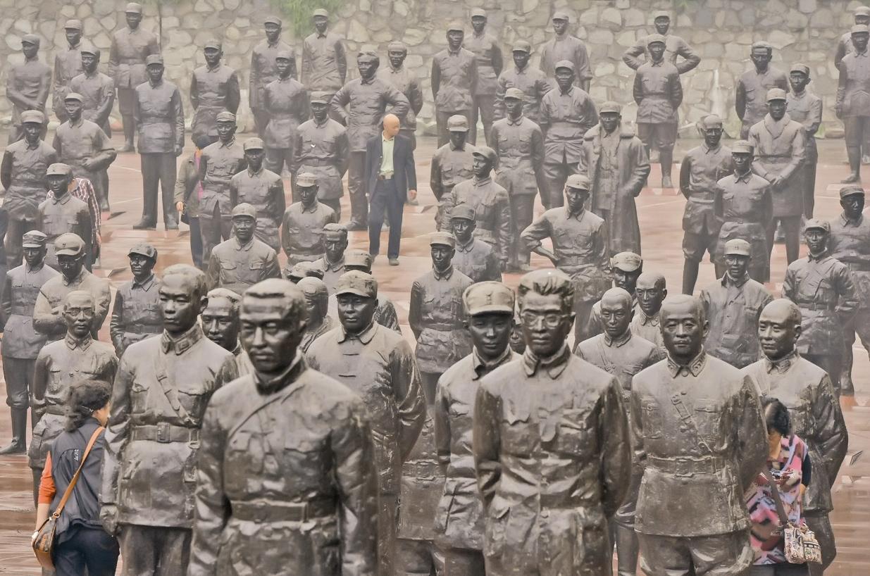 موزه سربازان و رهبران  در چین