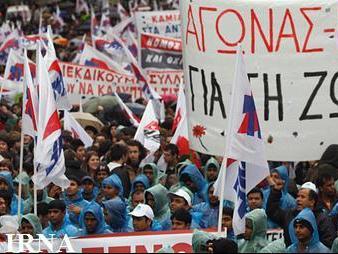 اعتصاب خبرنگاران یونان در اعتراض به نظام سرمایه داری