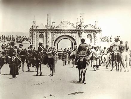 تهران قدیم - دروازه قزوین