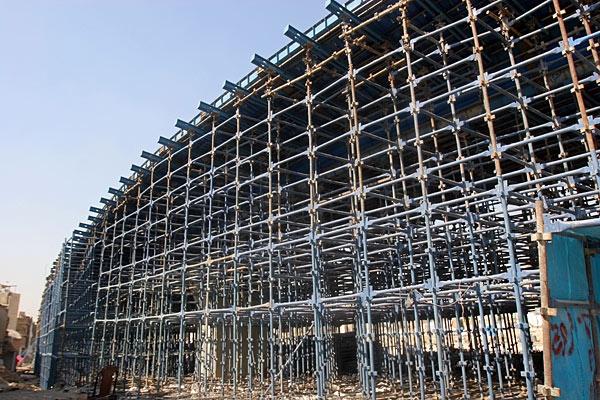 گزارش تصویری از روند ساخت بزرگراه امام علی (ع)