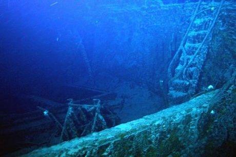 ancient Spanish wreck