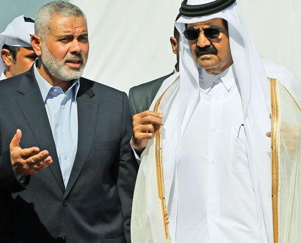 سفر امیر قطر به غزه