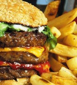 مصرف همبرگر و آسیب قلبی