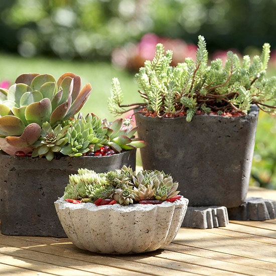 آشنایی با ساخت وسایل سیمانی برای باغ