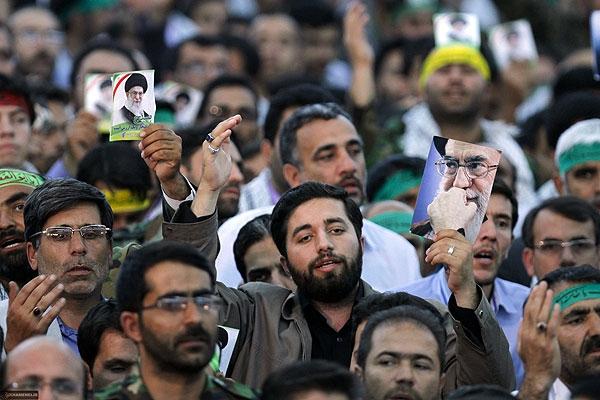 دیدار بسیجیان خراسان شمالی با رهبرمعظم انقلاب