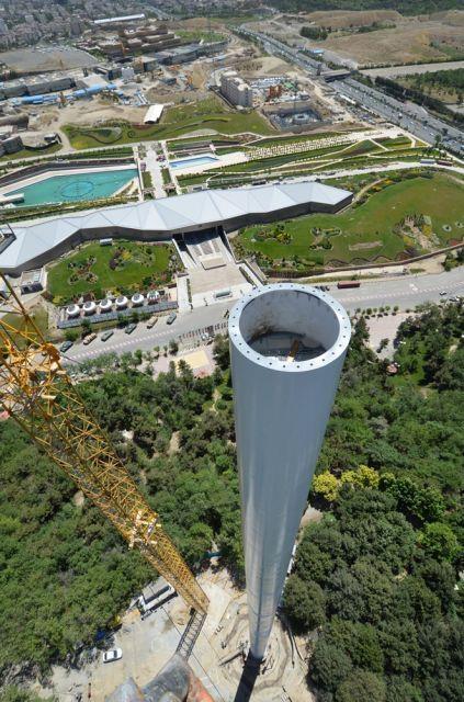 آشنایی با بلندترین برج پرچم ایران - تهران