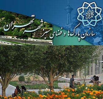 آشنایی با سازمان پارکها و فضای سبز شهر تهران