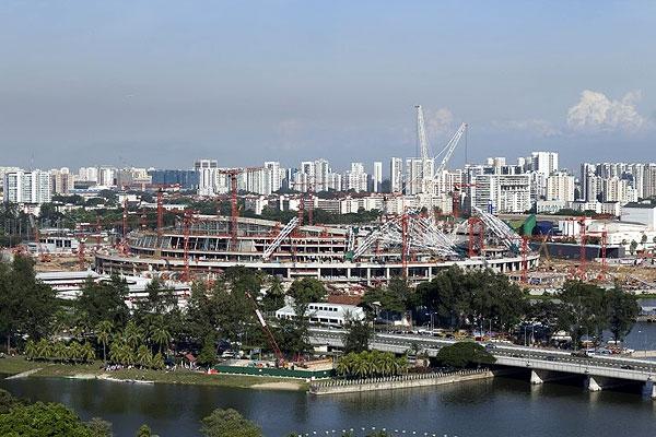 بزرگترین گنبد جهان در سنگاپور ساخته میشود