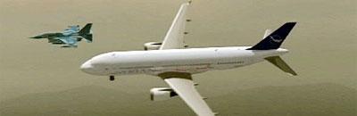 syria airplane