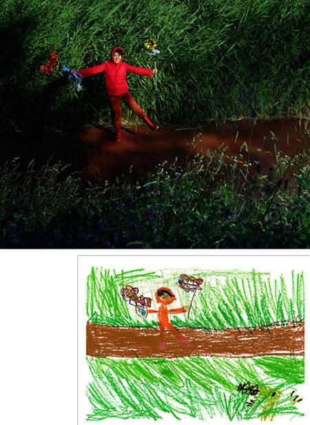 واقعیت نقاشی کودکان