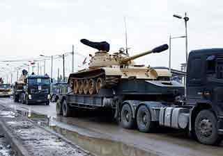 حمل تانک عراق