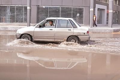 خوزستان - آبگرفتگی معابر