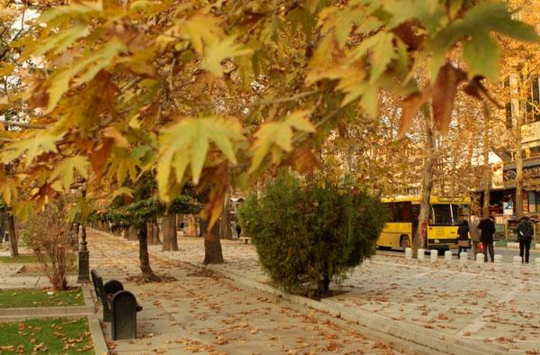 جشنواره رنگها در پارک ملت