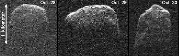 سیارکی بزرگ از کنار زمین گذشت