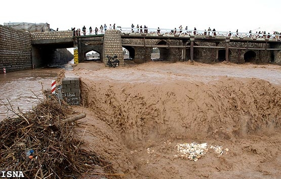 آشنایی با رودخانه خشک شیراز - فارس