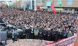 تجمع نمازگزاران در حمایت از مردم غزه