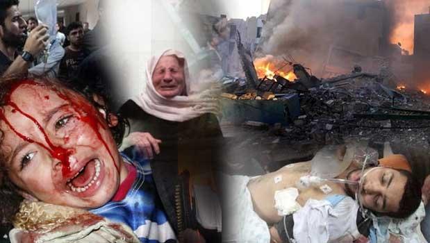 بیش از 600 حمله هوایی به غزه با بیش از 380 شهید و زخمی