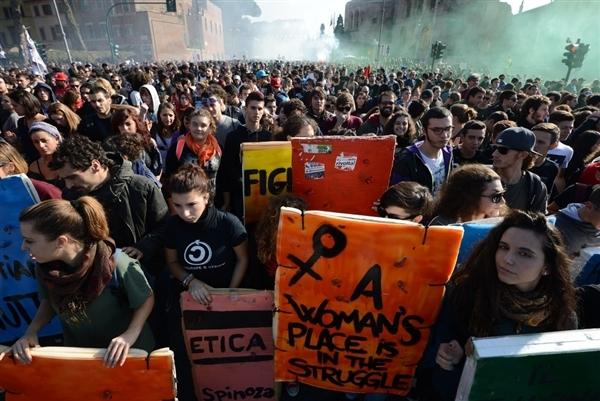 اعتصاب و اعتراض گسترده اروپایی ها به برنامه های ریاضت اقتصادی