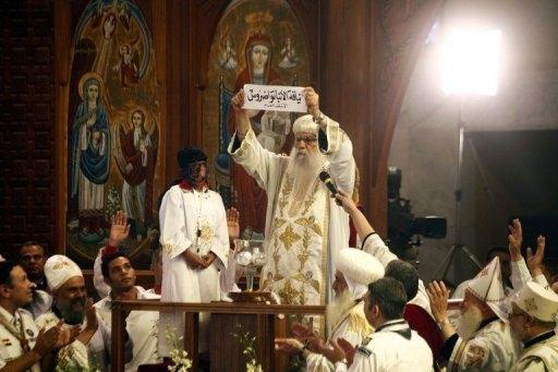 اسقف تئودورس پاپ جدید قبطیهای جهان شد