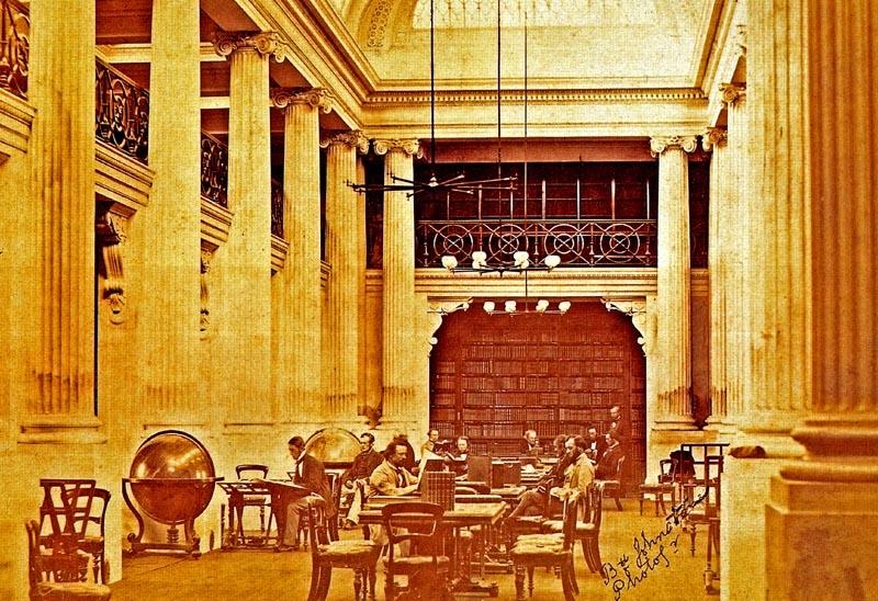 آشنایی با کتابخانه ایالتی ویکتوریا - استرالیا
