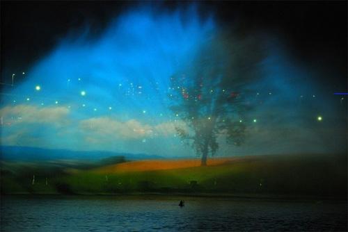 رویای شبانه آب