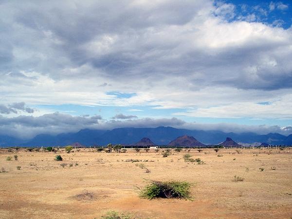 سایه بارانی (rain shadow)