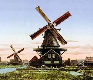 آسیاب بادی هلندی
