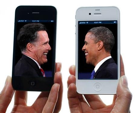نگاهی به کمپینهای موبایلی رامنی و اوباما یک روز قبل از برگزاری انتخابات آمریکا