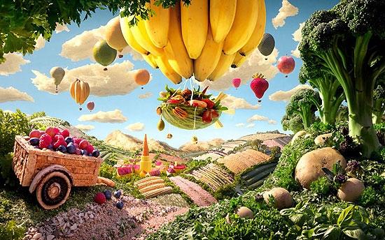 تصاویری دیدنی از سرزمین غذاها