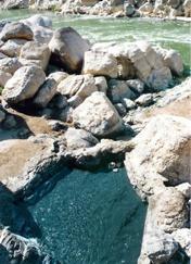 آشنایی با آب گرم گنویه دیر - بوشهر
