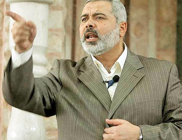 انتقاد تند هنیه از اظهارات عباس