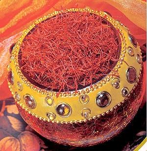 برداشت طلای سرخ در فارس