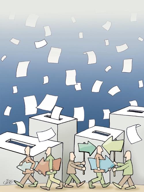 ماشینهای انتخاباتی
