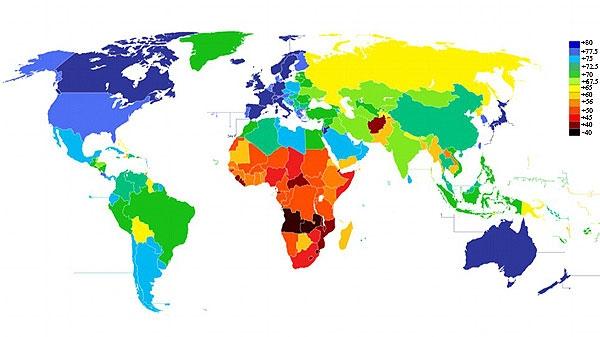 کشورهایی که در آنها زود میمیرید