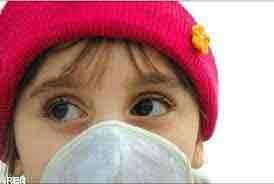 کودک آلودگی هوا