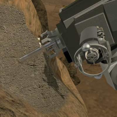 استفاده از مته کنجکاوی، چالش تازه ناسا