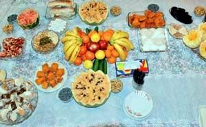 آداب و رسوم مردم استان خراسان جنوبی در شب یلدا
