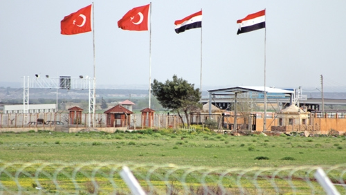 خط مرزی سوریه و ترکیه